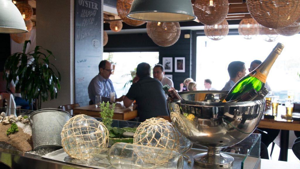 Oysters & Champagne Event
